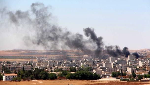 Türkische Armee beschießt syrisch-kurdische Stellungen