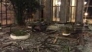 Zerstörter Innenhof: In Istanbul ist nach dem Putsch vieles anders