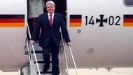 Vor dem nächsten womöglich schwierigen Staatsbesuch: Bundespräsident Joachim Gauck, hier in einer Aufnahme aus dem April 2013