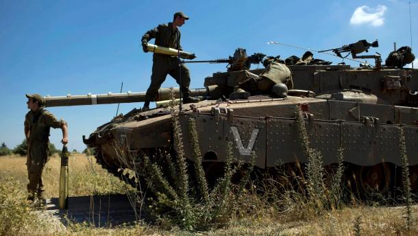 Zehn Tote bei israelischem Vergeltungsschlag