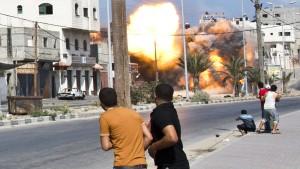 Bis die Hamas die weiße Fahne hisst