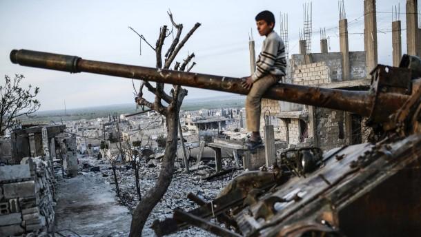 Kobane in Trümmern