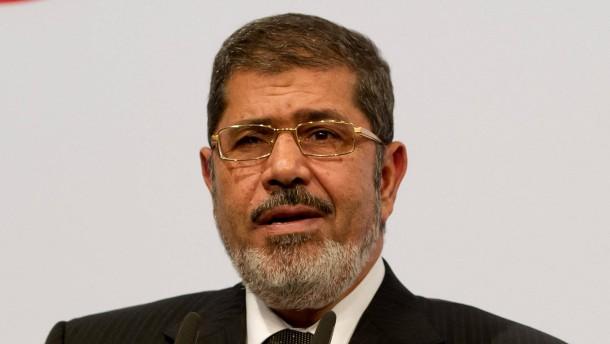 Präsident Mursi in Berlin