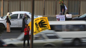 Protestaufruf nach Anklage Mursis