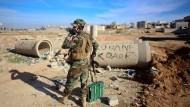 Peshmerga-Kämpfer Anfang November bei Kobane