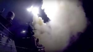 26 Raketen als Hilfe für Assad