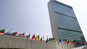 Palästinensische Flagge darf vor den UN wehen