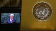 Abbas wirft Israel völkermordähnliche Verbrechen vor
