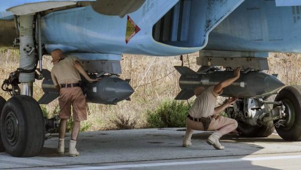 Russland und Amerika üben gemeinsam für Luftangriffe