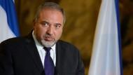 Außenminister Lieberman warnt vor diplomatischen Tsunami