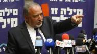 Lieberman lehnt Eintritt in Netanjahus Regierung ab