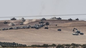 3000 Rebellen kämpfen auf türkischer Seite