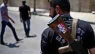 Er kämpft für Assad: Ein Söldner in den Straßen von Damaskus