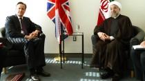 Die Zusammenarbeit mit dem Westen wird enger: Der britische Premier Cameron und der iranische Präsident Ruhani