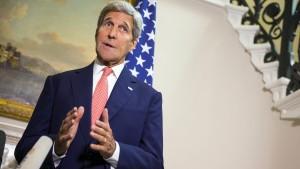 Kerry: Westen zur Zusammenarbeit mit Moskau bereit