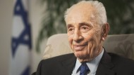Der ehemalige israelische Staatspräsident Peres im November 2015
