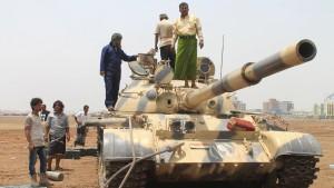 Neue Gefechte machen Aden zur Geisterstadt