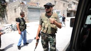 Aleppo mit Kampfflugzeugen angegriffen