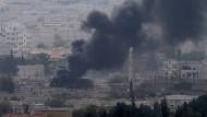 IS-Miliz soll 40 Prozent von Kobane kontrollieren