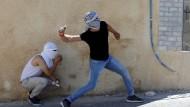 Zwei Tote bei Ausschreitungen in Palästinensergebieten