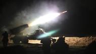 Syrische Rebellen nähern sich Raqqa