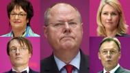Steinbrücks Wahlkämpfer