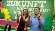 Bereit für die Koalition mit der CDU? Das Spitzenduo der Grünen: Katrin Göring-Eckardt und Cem Özdemir