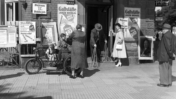 1953: Als Gustav Heinemann an der Fünf-Prozent-Hürde scheiterte