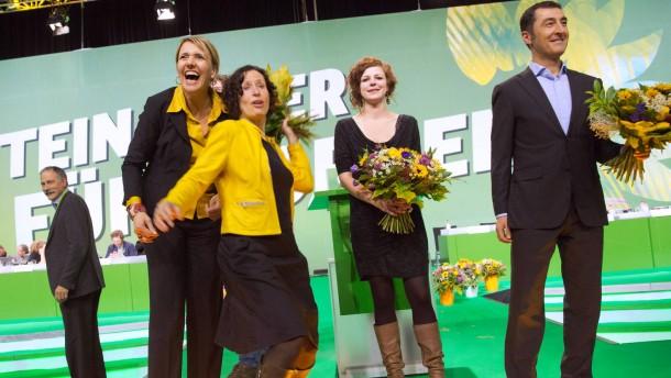 Die Grünen im Übergang