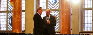 Nicht aus demselben Holz: Gerhard Schröder sprach sich für einen Kanzlerkandidaten Gabriel aus, unterstützte dann aber Schulz nach dessen Nominierung.