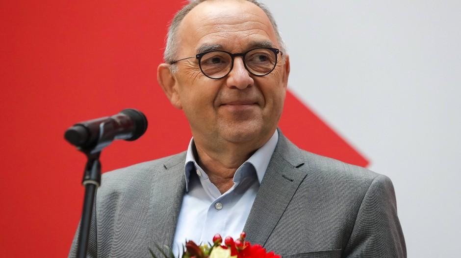 Norbert Walter-Borjans am Montag in Berlin