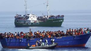 AfD will Flüchtlinge nach Libyen zurückschicken