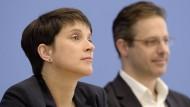 Der Austritt Frauke Petrys aus der AfD könnte die Fraktion nun einen.