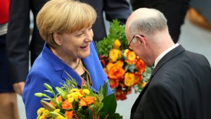 Lammert zum Bundestagspräsidenten gewählt