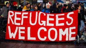 Die Fragen des  Flüchtlings