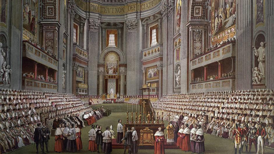 Das (Un-)Heil nimmt seinen Lauf: Eröffnung des I. Vatikanischen Konzils am 8. Dezember 1869 im Petersdom