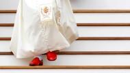 Abgelaufen: Benedikt trug rote Slipper, Franziskus bevorzugt schwarzes Schuhwerk