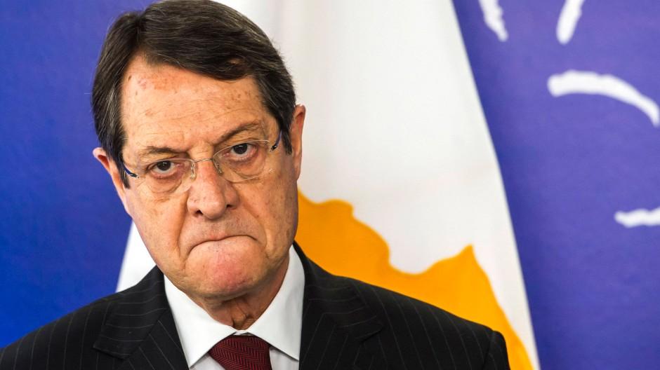 Muss das Vertrauen in der Bevölkerung zurückgewinnen: Zyperns Präsident Nikos Anastasiadis