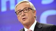Juncker in Personalnot
