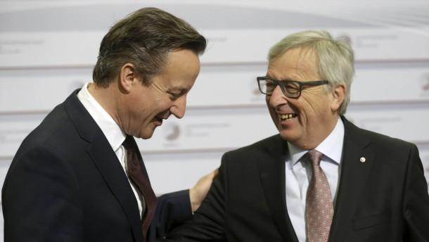 Cameron will Gespräche über EU-Reformen erzwingen