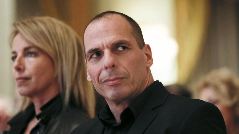 Danae Stratou und Giannis Varoufakis