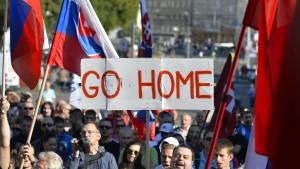 Slowakische Republik kündigt Klage an
