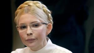 Timoschenko will für Europa auf Freilassung verzichten