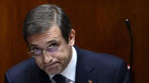Portugals Regierung lehnt Rücktritt und Neuwahlen ab