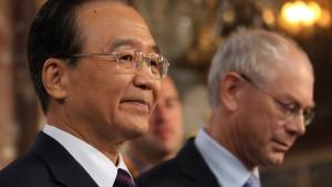 Wen Jiabao kritisiert EU-Waffenembargo