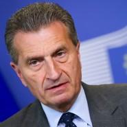 Gegen Änderungen an den bestehenden Verträgen: EU-Energiekommissar Günther Oettinger