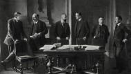 Die Pariser Friedenskonferenz beendete formal den ersten Weltkrieg. Doch taugt sie als Vorlage für die heutigen Bemühungen um Frieden in Syrien?