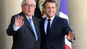 Warum Macron will, dass die Staaten den EU-Kommissionschef bestimmen