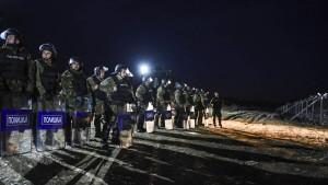 Wieder Ausschreitungen an der griechisch-mazedonischen Grenze