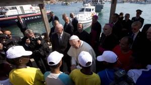 Der Papst auf dem Pulverfass